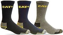 Comprar Caterpillar de dibujo de gato con 3 par para hombre calcetines de PK de trabajo. [