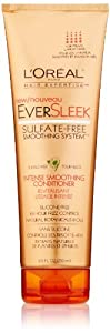 L'Oreal Paris EverSleek Sulfate-Free Smoothing System Intense Smoothing Conditioner, 8.5 Fluid Ounce