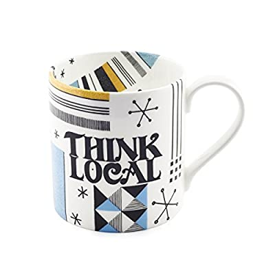 Think Local Mug - Assorted
