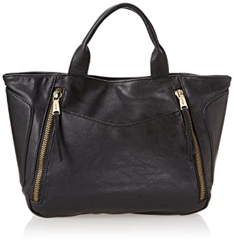Co-Lab by Christopher Kon Katrina Top Handle Bag,Black,One Size