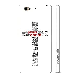 Enthopia Designer Hardshell Case Holy Cross Back Cover for Gionee S6