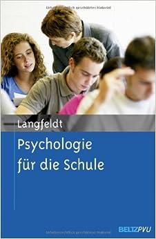 Psychologie für die Schule: Hans-Peter Langfeldt: 9783621281850 ...