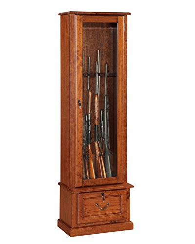 American Furniture Classics Glass Door Display Cabinet (Cabinet Wood compare prices)