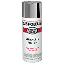 Rust-Oleum 7715830 STOPS RUST Bright Coat Spray Paint, Aluminum