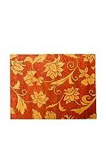 CarpeTrade Alfombra Soft Silk Nepal (Teja/Oro)