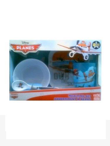 Zak Designs Disney Planes Mealtime Set: Bowl, Tray, Spoon And Tumbler front-981341
