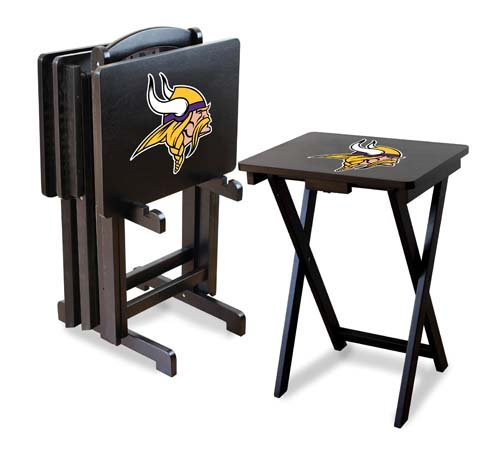 Imperial NFL Minnesota Vikings Set Of Four Wood TV Trays at Sears.com