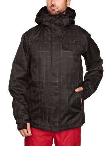 O'Neill Escape Finetune Men's Jacket Black Out Large