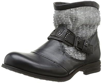 Bunker Cobe, Boots femme - Noir (Carbon), 39 EU