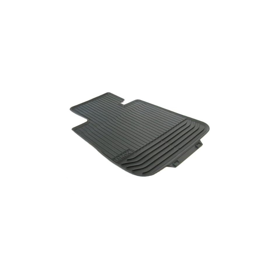 BMW 51 47 2 152 348 5 Series Rubber Floor Mat   Black Front (Set of 2)