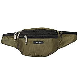 Aoking Green Waist Pouch Belt Multipupose
