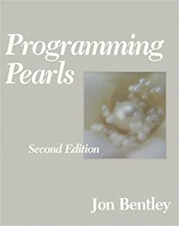 If The Size Of The Algorithm Design Manual Is Daunting And You Want A Short  Book To Conquer Quickly (for Morale Reasons), Give Programming Pearls A  Read.