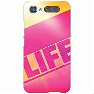 Intex Aqua Y2 Pro Back Cover - Silicon Life Designer Cases