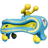 Toyztrend My First Ride-On 4 Wheel Drive With 360 Degrees Spins For Kids Between 12 To 30 Months (Blue)