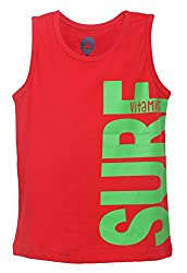 Vitamins Boys' T-Shirt (08Tb-514-3-Red_Red_3 - 4 Years)