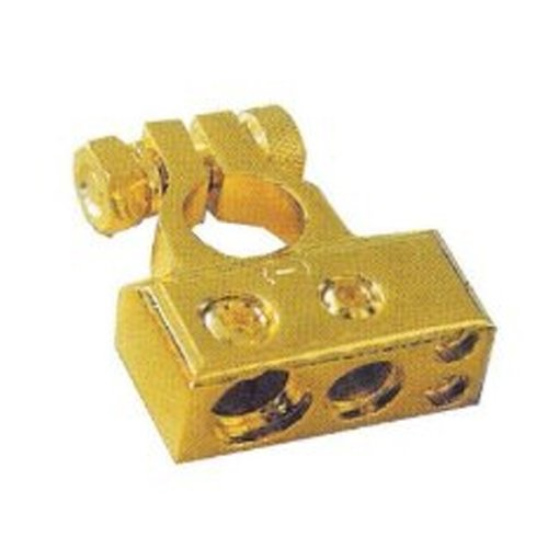 Absolute BTG300P 1 Guage/1x4 Guage/2x8 Guage Output Positive Gold Battery Terminal (2002 Cadillac Deville Battery compare prices)