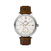 [アイダブリューシー]IWC 腕時計ポートフィノ・ハンドワインド・エイトディズ SSx革ベルト ダークブラウン  IW510103 メンズ [メーカー保証付] [お取り寄せ品] [並行輸入品]
