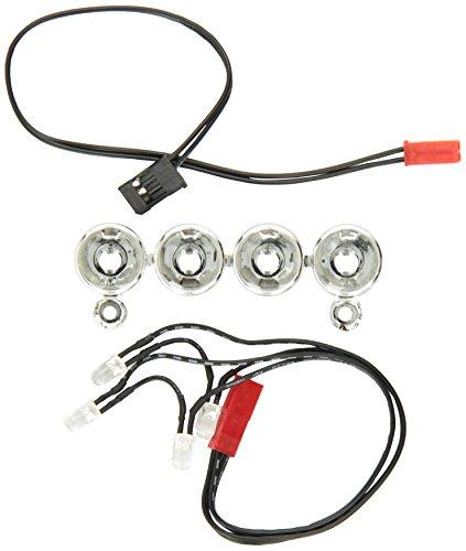 Traxxas 6784 Led Light Bar Chrome, 4 Clear Lights, Stampede 4X4