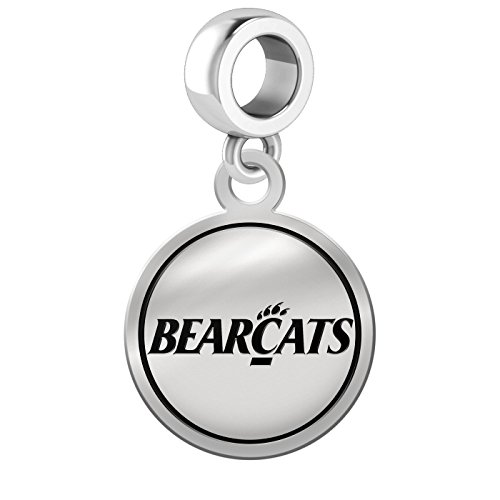 Cincinnati Bearcats Border Round Dangle Charm