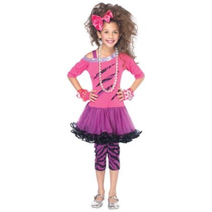 Rockstar Girls Costume 4pc Set Size Small