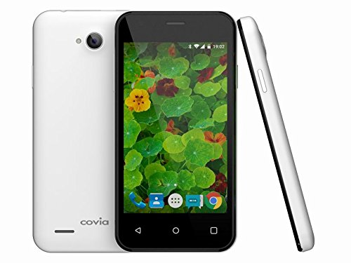 Covia SIMフリー スマートフォン FLEAZ POP ( Android5.1 / 4inch WVGA / FDD LTE / microSIM / 1GB / 8GB ) CP-L42A