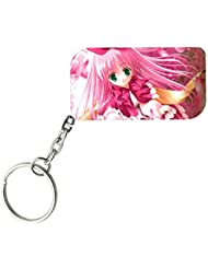 The Barbie Girl | ShopTwiz WOODEN Key Ring