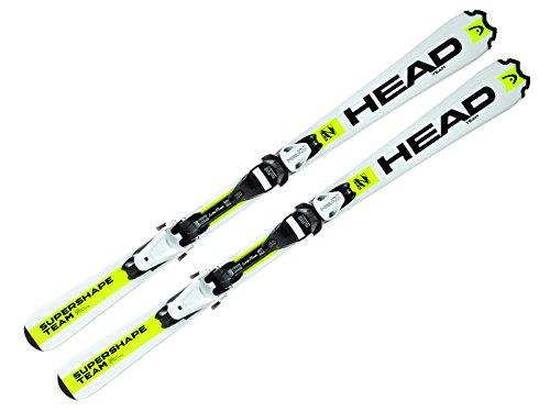 HEAD sci supershape Team LR + attacchi LRX 4,5 AC 2016, 117 cm