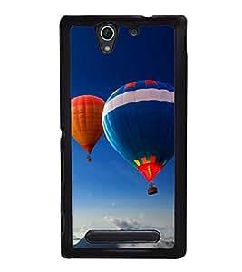 Hot Air Balloon 2D Hard Polycarbonate Designer Back Case Cover for Sony Xperia C4 Dual :: Sony Xperia C4 Dual E5333 E5343 E5363