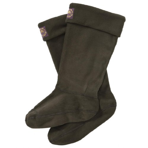 Joules Womens Welly Socks - Olive - M