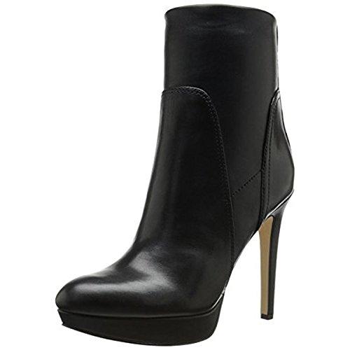Sam Edelman Women's Alyssa Boot, Black Stretch Leather, 5.5