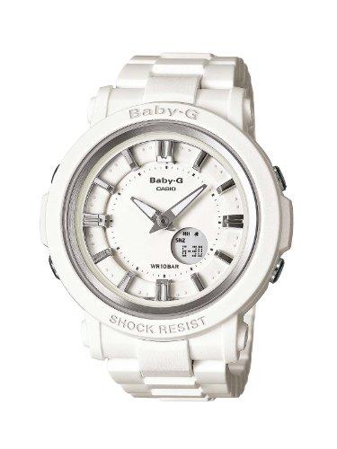 Casio Baby-G BGA-300-7A1ER - Reloj analógico - digital de cuarzo para mujer, correa de resina color blanco
