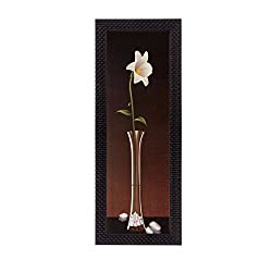eCraftIndia Floral Matt Textured UV Art Painting