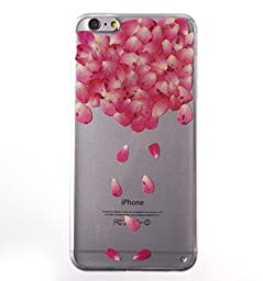 [Handmade] Custom Floral Case, Pressed Real Flowers TPU Jelly Case for iPhone 6s (4.7\