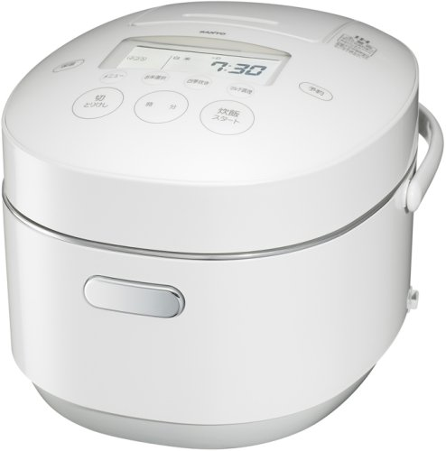 SANYO 圧力IHジャー炊飯器「匠純銅 おどり炊き」 (プレミアムホワイト)  ECJ-XP1000(W)