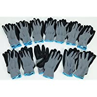 12 Pairs Ironton Nitrile-Coated Gloves