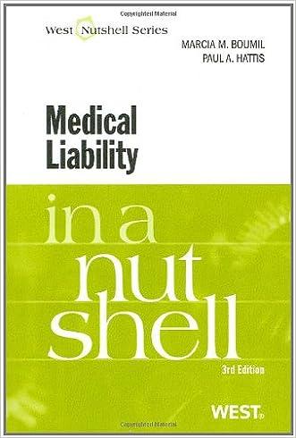 Medical Liability in a Nutshell