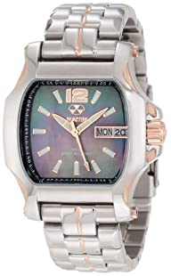 REACTOR Women's 65101 Quark 2 Authentic Mother-Of-Pearl Dial Watch