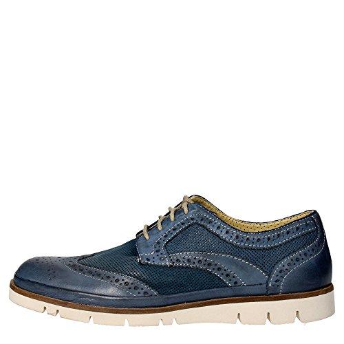 Trivict G196-S16027-C Inglesina Uomo Pelle Blu Blu 45