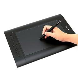 Huion H610PRO Graphic Pen Tablet (10 inch), Black