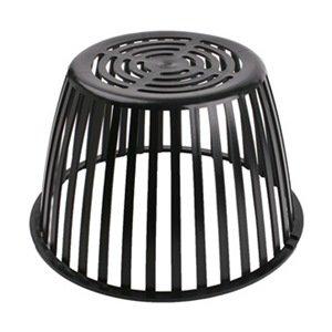 Roof Drain Dome 12 1 4 In Dia Plastic Bathroom Sink And Tub Drain Straine