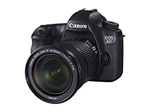 Canon EOS 6D SLR-Digitalkamera (20,2 Megapixel, CMOS-Vollformatsensor, 7,6 cm (3 Zoll) Display, Full-HD) Kit inkl. 24-105 mm IS STM, schwarz