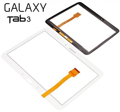 Express Shop offerta. Samsung Galaxy Tab 310.1P5200P5210Display vetro Touch Screen Digitizer Bianco White Tool con accessori, senza display LCD