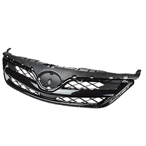 Toyota Corolla ABS Plastic OEM Mesh Style Front Upper Grille (Black) - 10th Gen E140 Facelifted (2012 Toyota Corolla Grill compare prices)