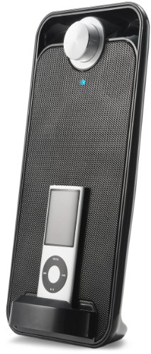 Curtis SJI105-Black Sylvania MP3/iPod Speaker Dock (Black)