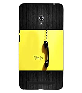 PrintDhaba Quote D-5072 Back Case Cover for ASUS ZENFONE 6 A601CG (Multi-Coloured)