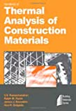 Handbook of Thermal Analysis of Construction Materials (0815514875) by Ramachandran, V.S.