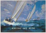 The Railway Poster Collection Racing off Ryde Isle of Wight 1000 piece nostalgic jigsaw