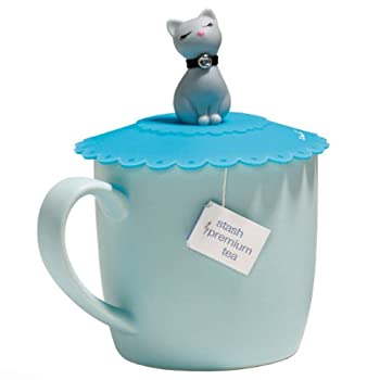 Blue Cat Cup Cover