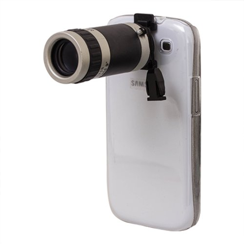 Globle 8X Optical Zoom Camera Telescope Lens Kit For Samsung Galaxy S3 Siii I9300 New