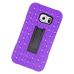 Zizo Cell Phone Case for Samsung Galaxy S6 Edge Plus G928A - Retail Packaging - Purple